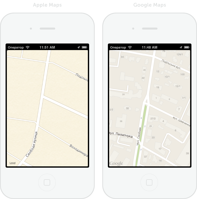 Implementing Google Maps into the application for iOS 6.0