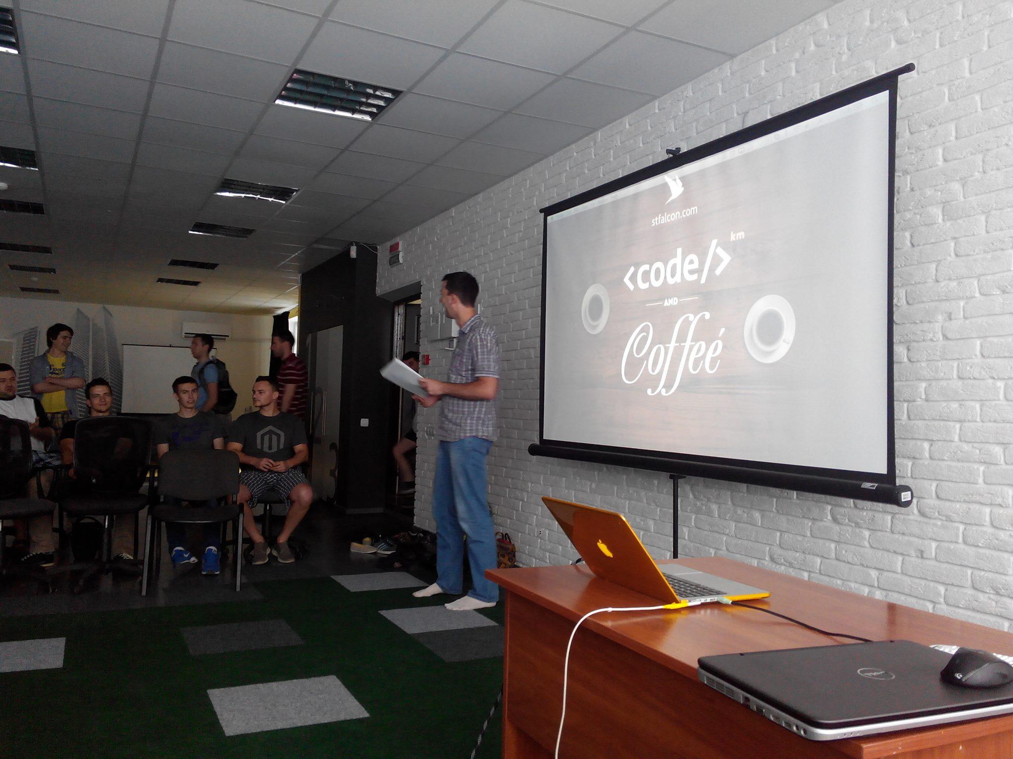 Km Code'n'Coffee #3 очима учасника