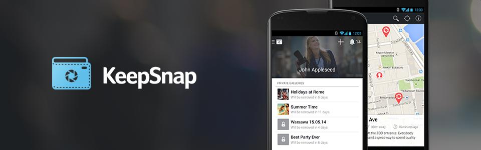 Приложение для проекта KeepSnap