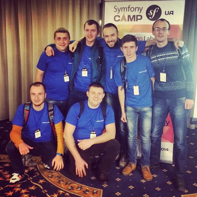 Небольшой отчёт о нашей поездке на Symfony CAMP UA 2014