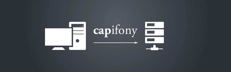 Symfony2 site deployment using Capifony