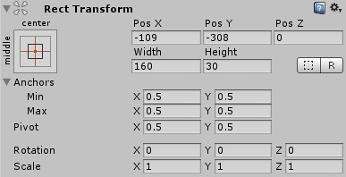 Rect Transform