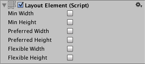 Layout Element (Script)
