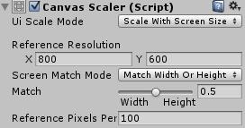 Canvas Scaler