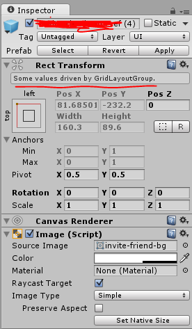 Grid Layout Group