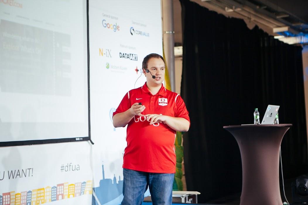 Открытие GDG DevFest 2015