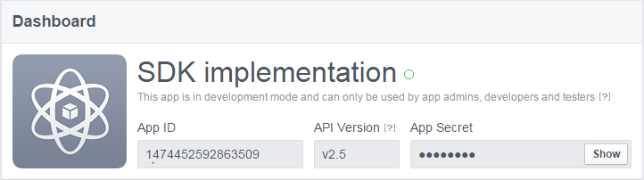 SDK implementation