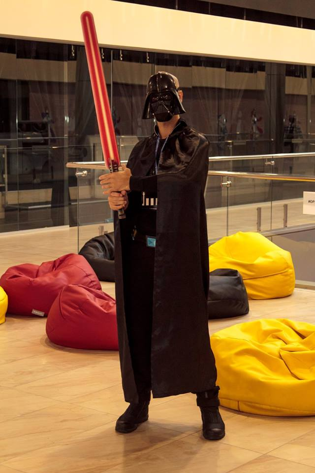 Darth Vader at Outsource People 2015