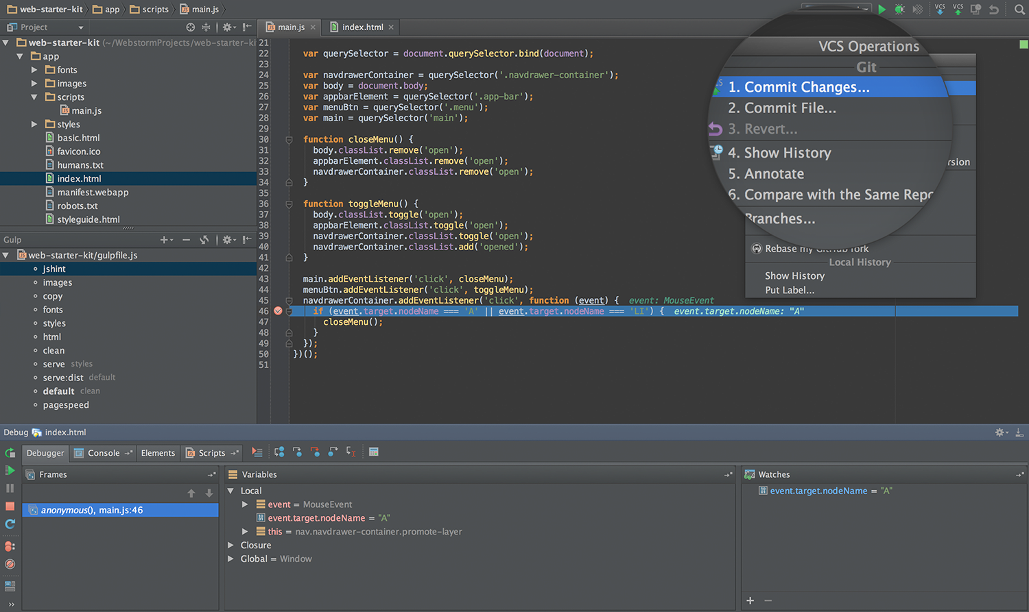 WebStorm for web developers