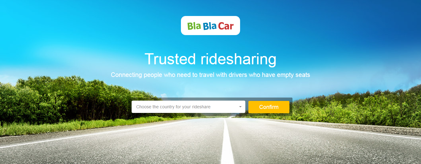 BlaBlaCar website is build on Symfony2