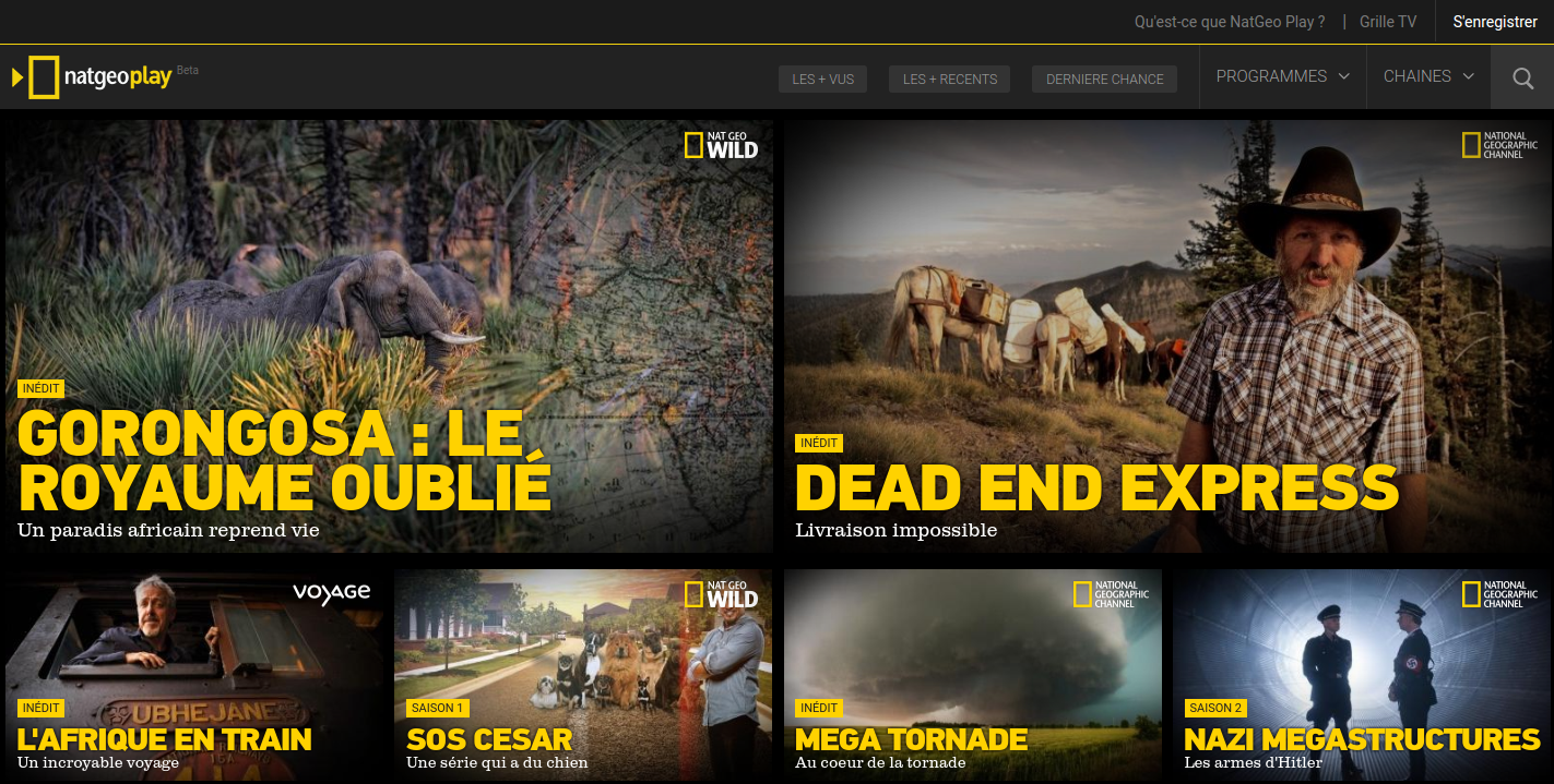 Videosite NatGeo Play is build on Symfony2