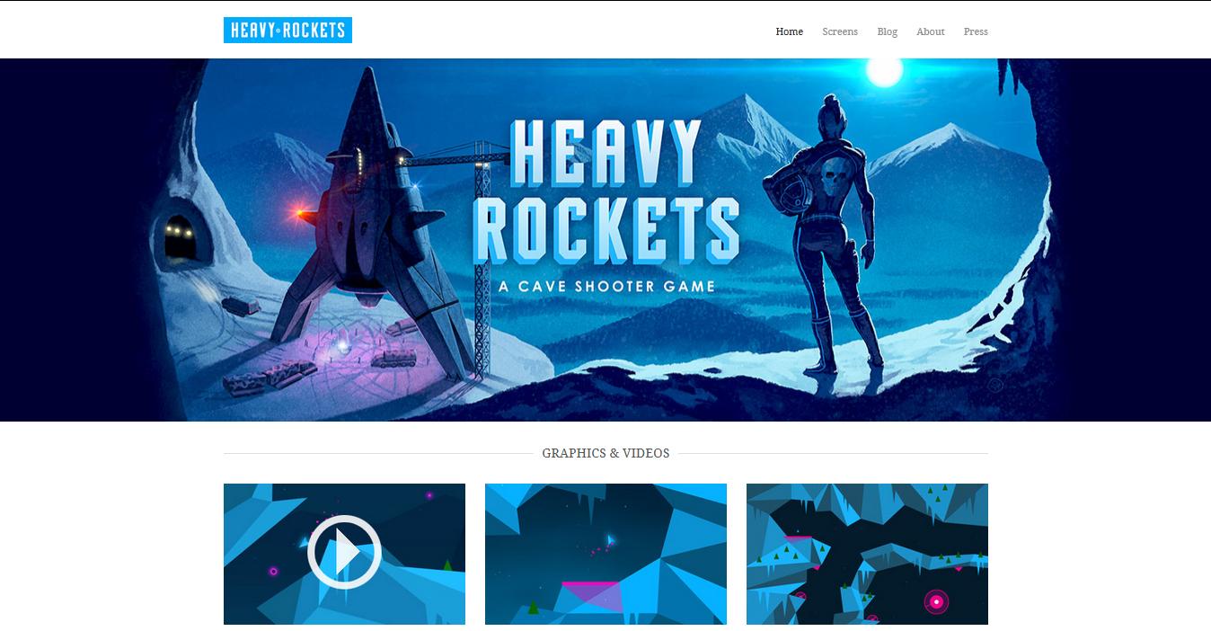 Адаптивный сайт для видеоигры