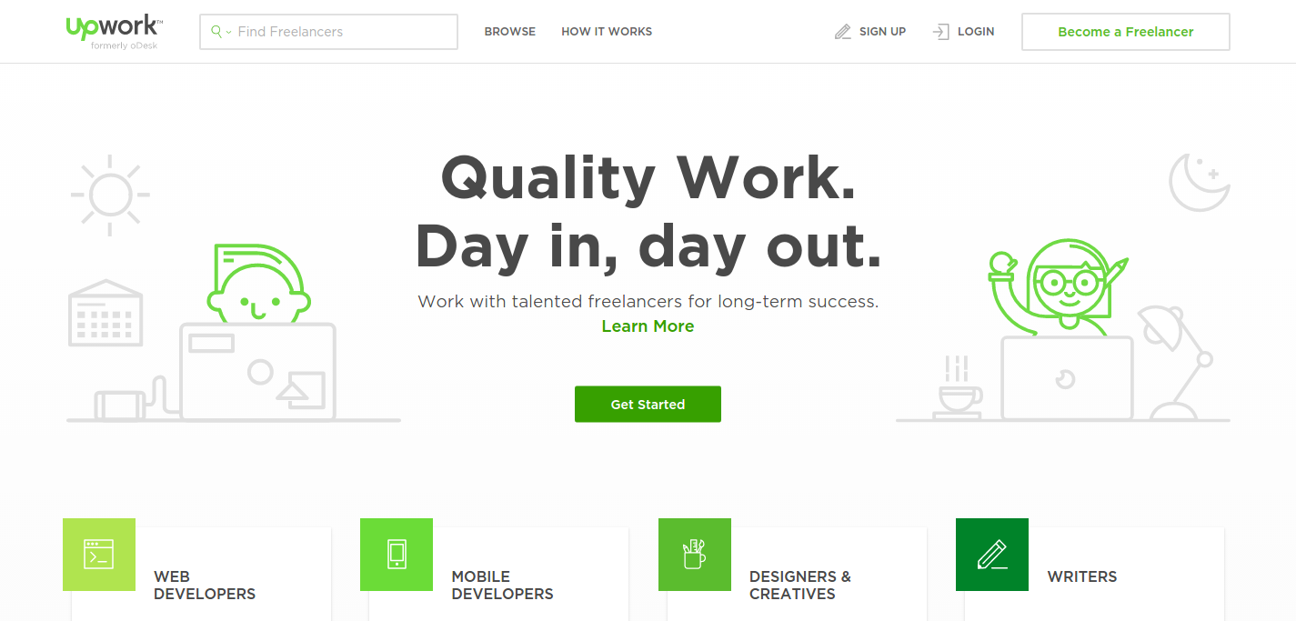 Upwork uses AngularJS