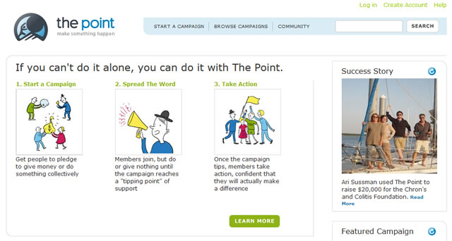 The Point, first Groupon MVP