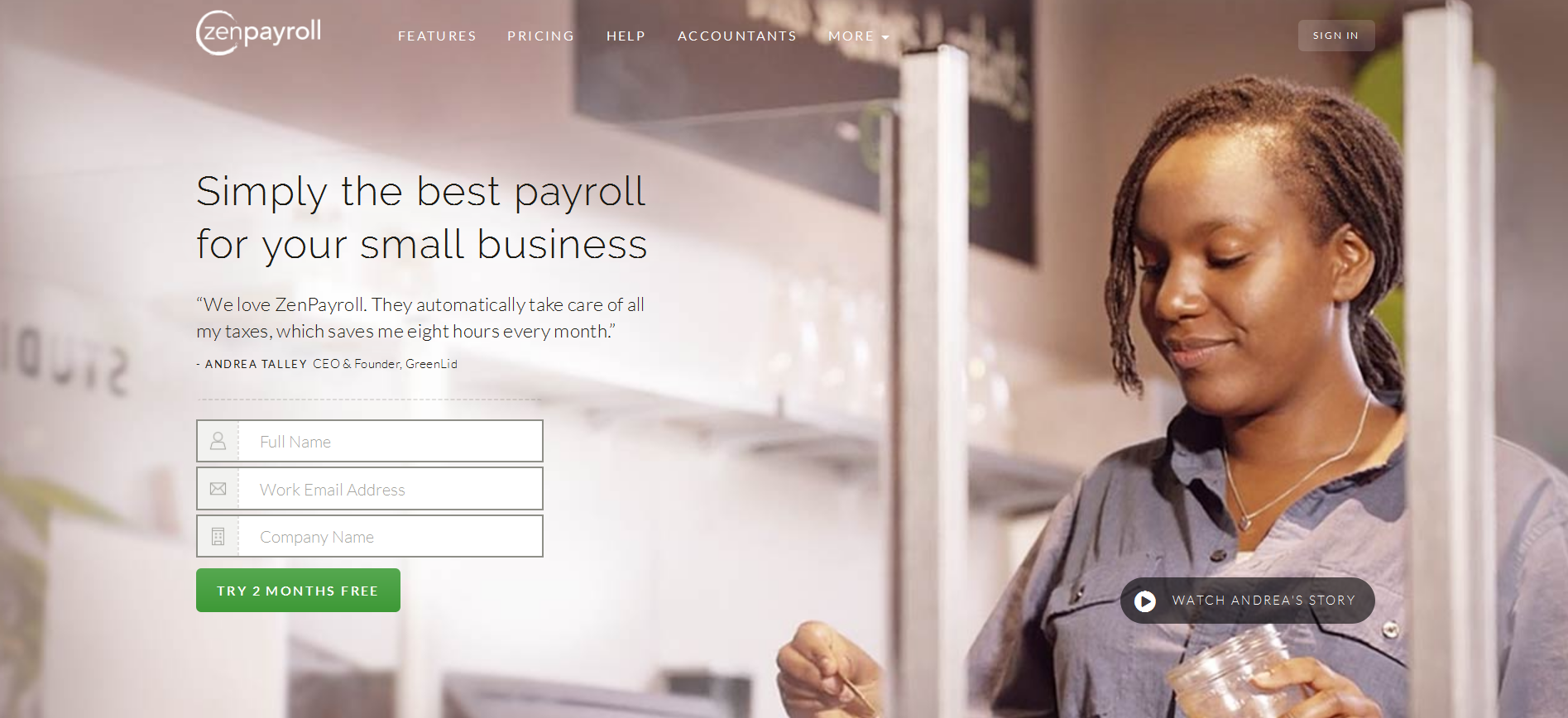 ZenPayroll startup solves the problem of payrolling