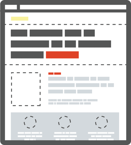 Example of page elements hierarchy