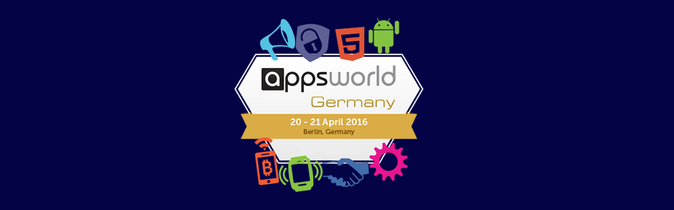 Meet stfalcon.com at Appsworld Germany 2016, April 20-21