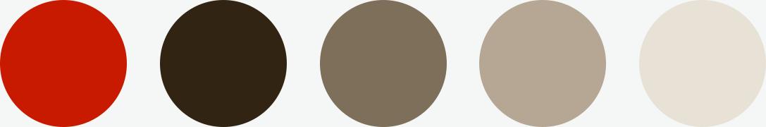 Color palette for Cookorama app