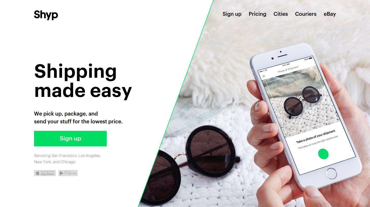 Shyp — пример стартапа с четкой целью