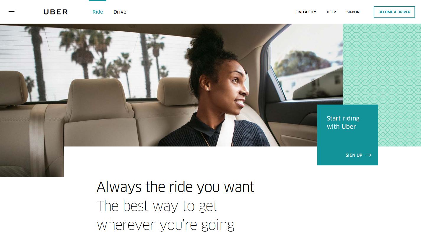 Uber создал уникальное предложение ценности