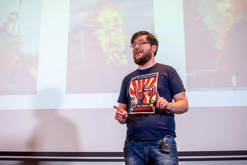 Мартін Науманн на JS frameworks day 2016