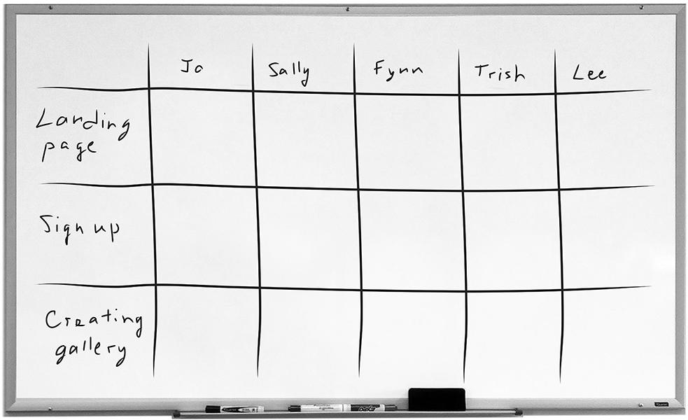 Таблица для интервью