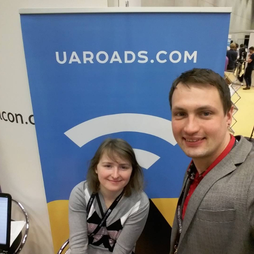 Представники студії stfalcon.com на Appsworld Germany 2016