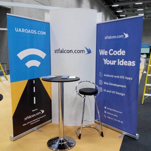 Stand of studio stfalcon.com at Appsworld Germany 2016