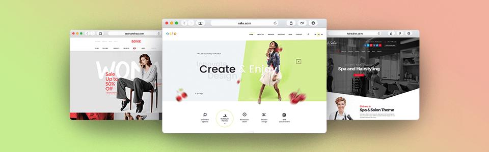 Web UI design examples