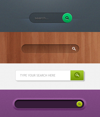 Search form design