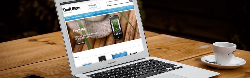 Tecart — новая тема для OpenCart