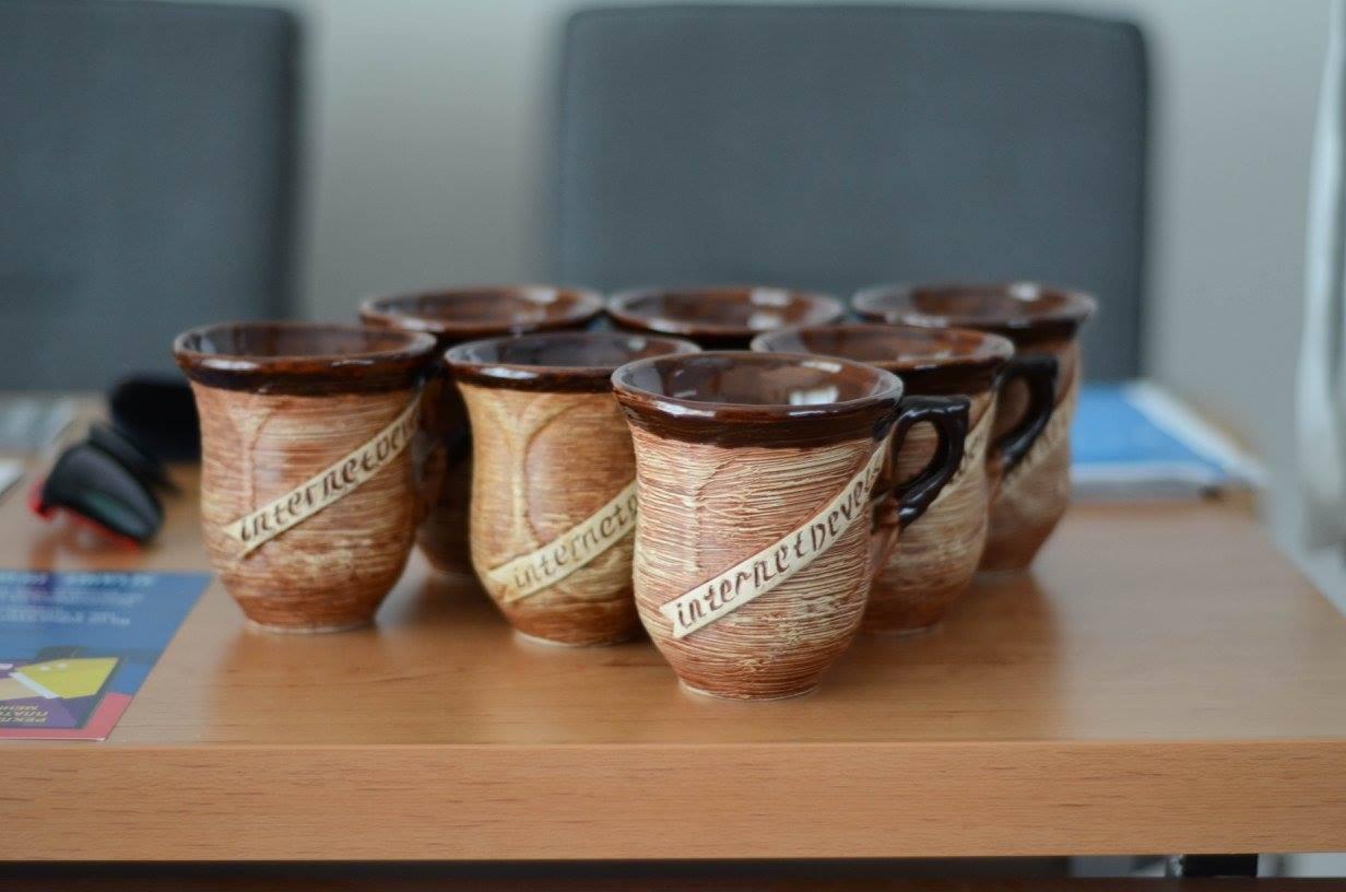 Чашки від InternetDevels на Форумі M/PR