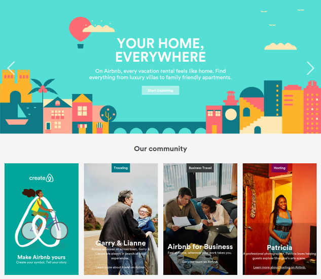 Airbnb is a startup with clear vision