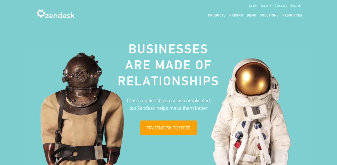 Zendesk startup