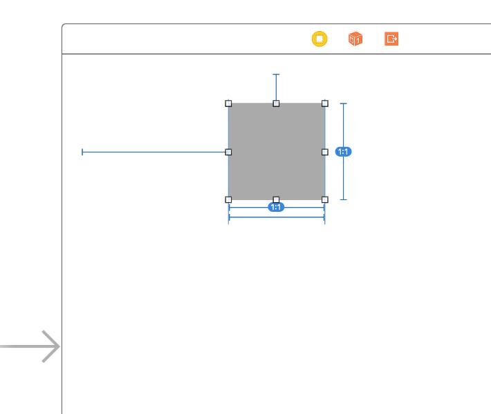 UIKit Dynamics storyboard