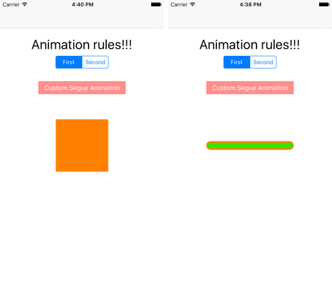 Animation in iOS with Pop framework