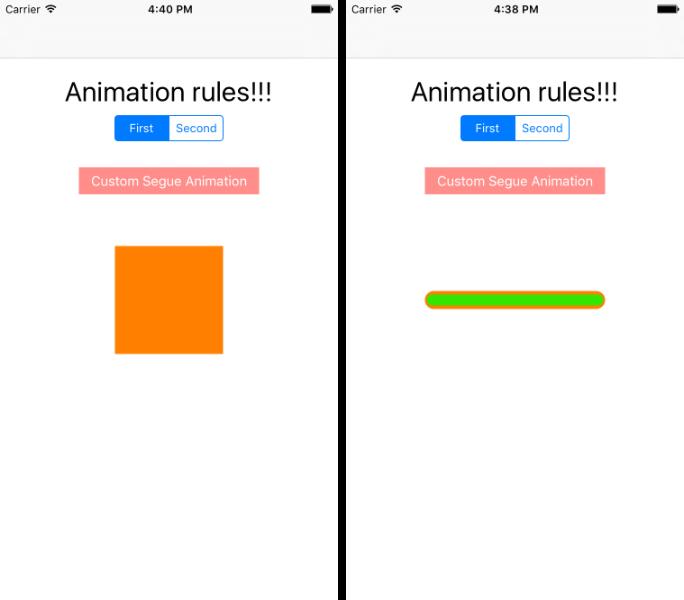 Анимация в iOS с помощью фреймворка Pop