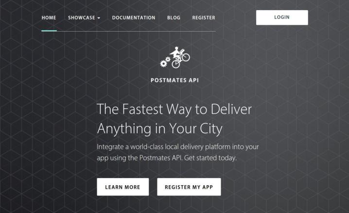 Как разработать приложение для службы доставки вроде Postmates