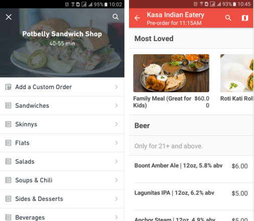 How to develop a Postmates-like delivery service app | Blog | Web