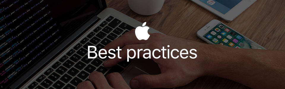iOS development. Best practices