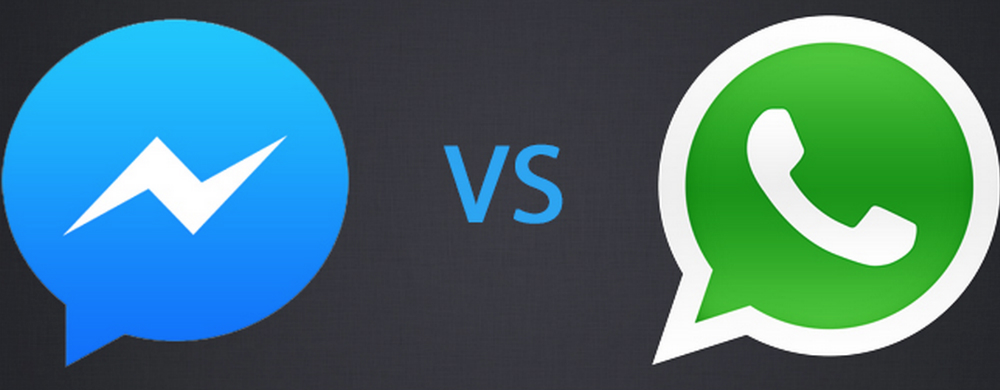 WhatsAp vs FB messenger