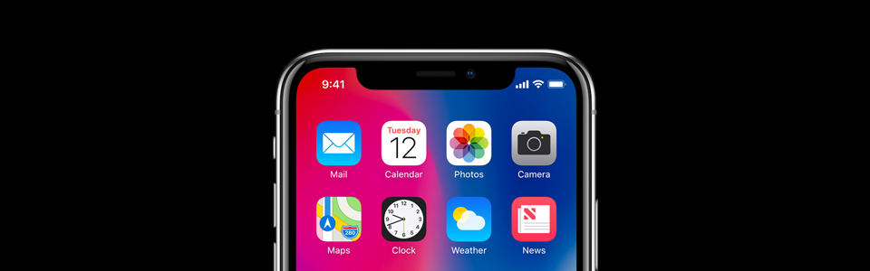 iPhone X release influence mobile app design