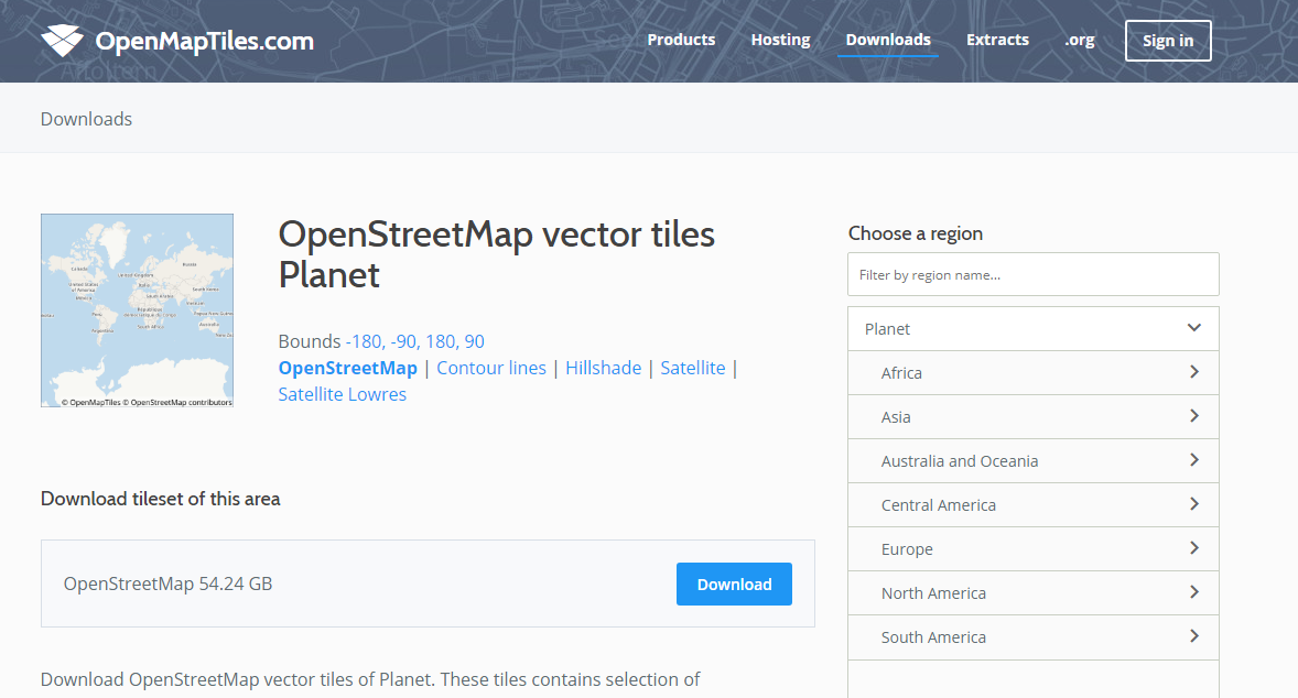 Free tools for designers: map creation | Blog | Web and mobile app