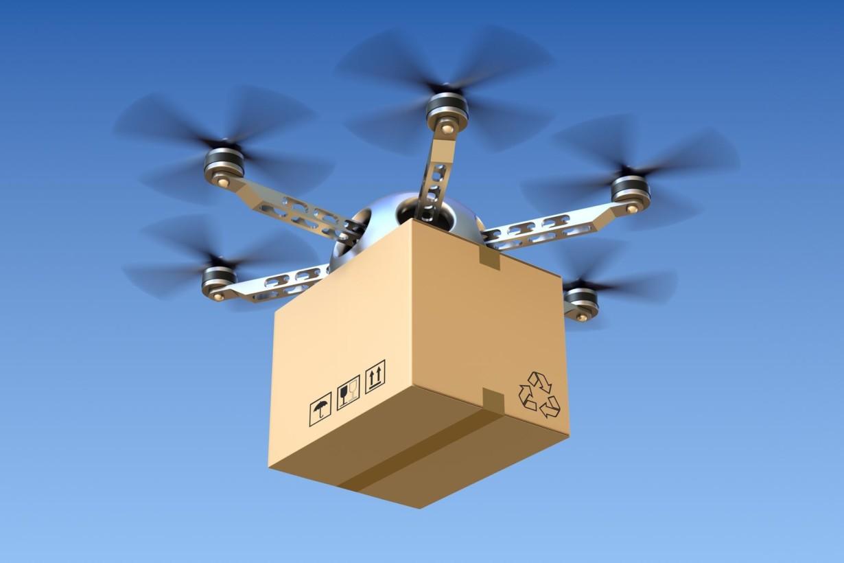 Доставка при помощи дронов