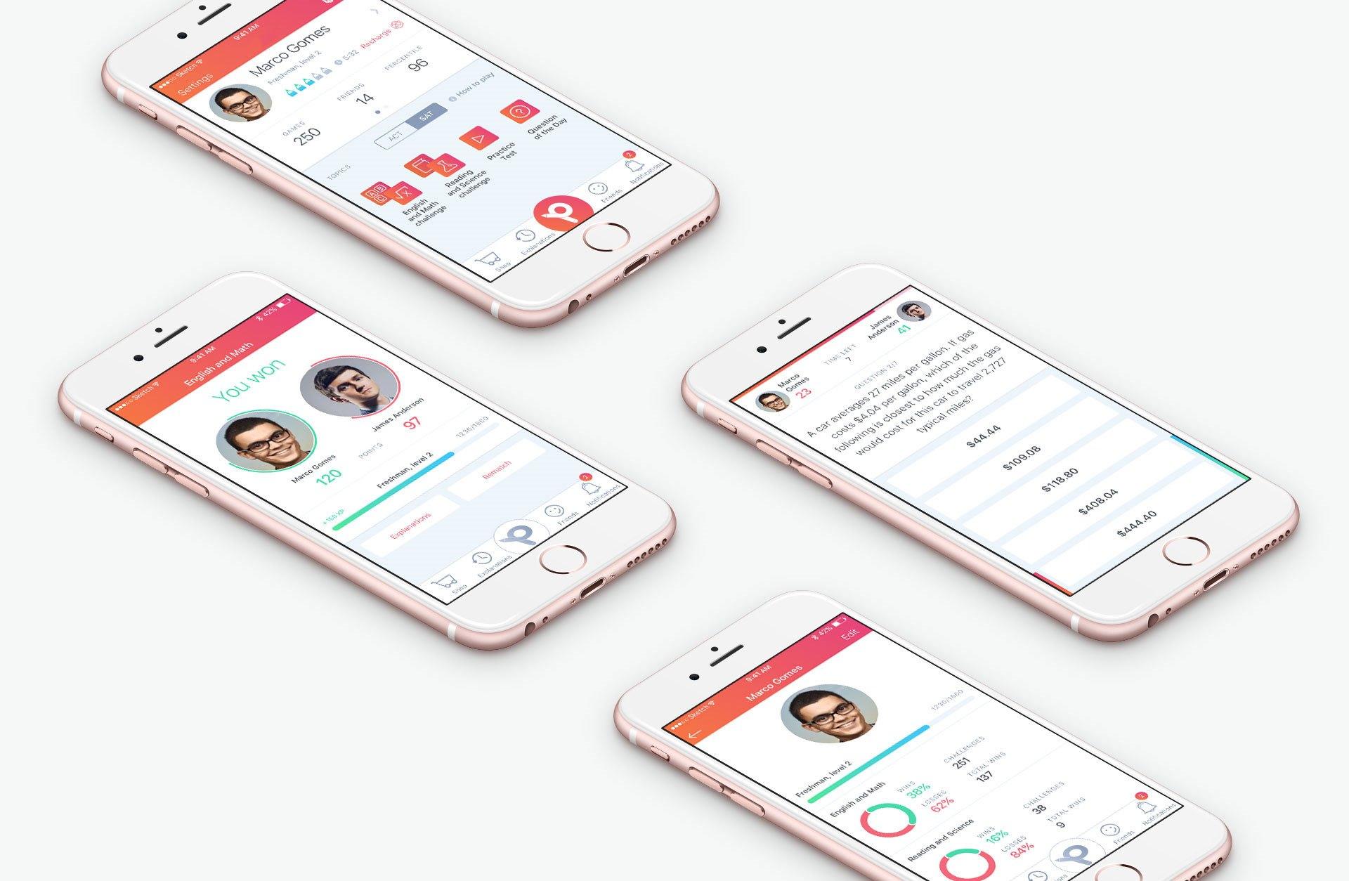 StudentChallenge - приложение на PHP