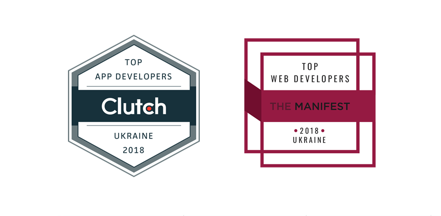 Stfalcon is a top web developers in Ukraine by Clutch and The Manifest rates