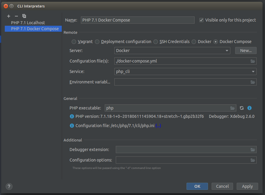 Running PHPUnit Tests with Code Coverage in PHPStorm When