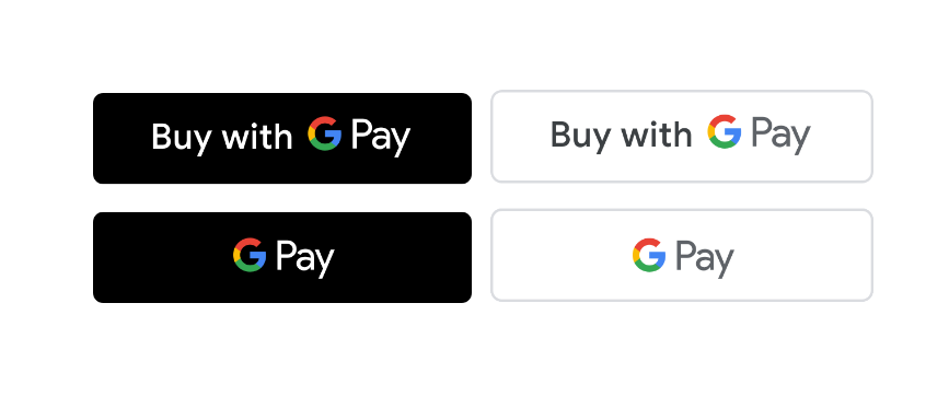 Google Pay button