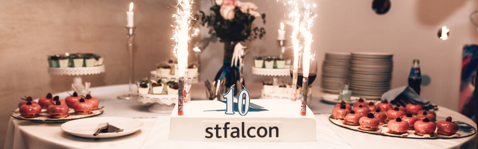 Stfalcon - 10 Remarkable Years at a Glance