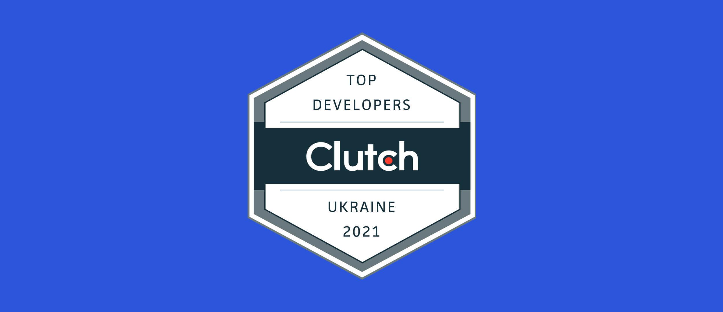 Stfalcon Named asUkraine Best Developers onClutch 2021 Leaders Award